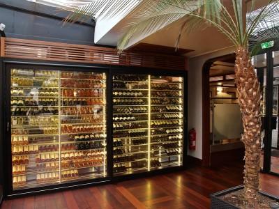 Cavisio, wijnkelder op maat , winewall