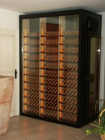 Cavisio, wijnkelder op maat, winewall