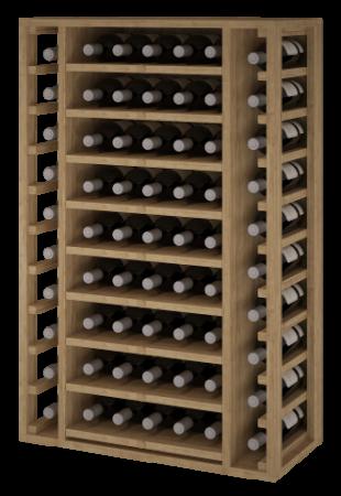VinoWood 105 - 65 flessen - leggers/clayettes