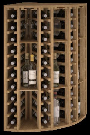 VinoWood - 40 flessen/bouteilles - Hoek/angle ext.