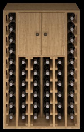 VinoWood 105 - 46 flessen/bouteilles + 1 cab