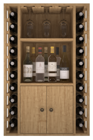 VinoWood 105 - 20 flessen/bouteilles  + kast/armoire