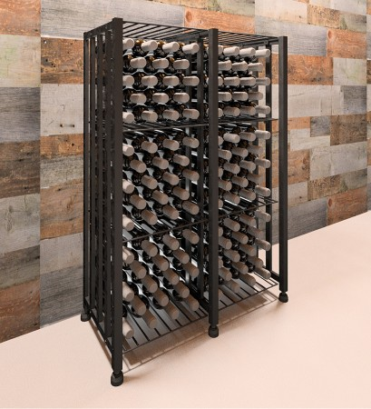 Case & crate sans grilles / zonder hekken
