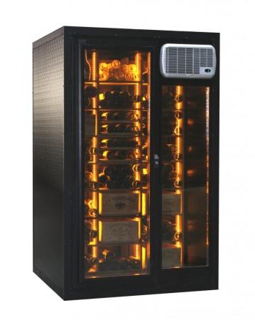 Cavispace options LED et façade vitrée