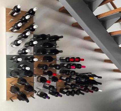 STACT wijnrek - rangement bouteilles - Oak