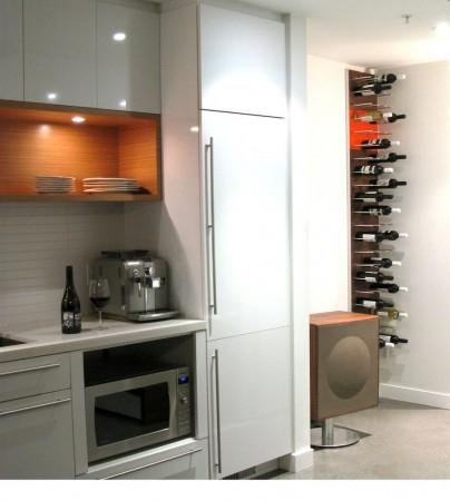 STACT wijnrek - rangement bouteilles Walnut