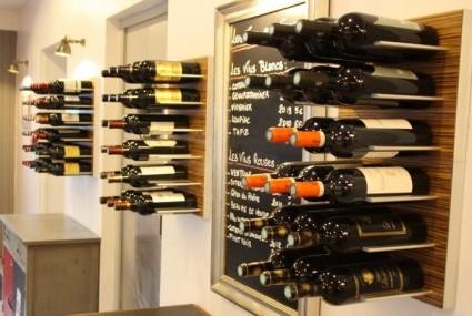 STACT wijnrek- rangements bouteilles Zebrano