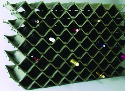 ZigZag rangement bouteilles écologique
