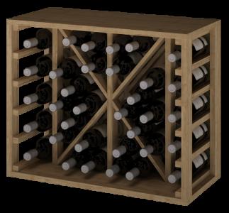 VinoWood 54 - 34  flessen/bouteilles - X