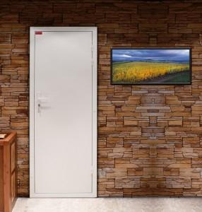 Winemaster geïsoleerde deur